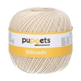 Puppets Eldorado dikte 10 50g 04269 ecru bad 232628