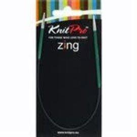 Zing alu fixed circular needle 3,00mm 25cm