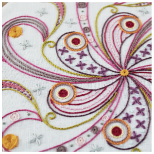 Borduurpakket: Mandala nr.4