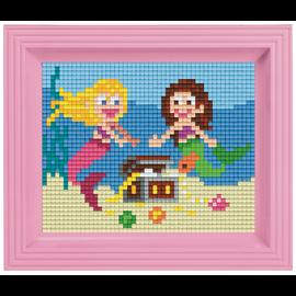 Pixelpakket zeemeerminnen