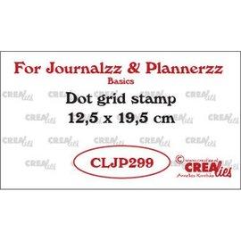 Crealies Journalzz & PI stempel Bulletjournaling dot grid
