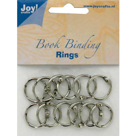 Boekbinders-ringen, 20mm, 12 st.