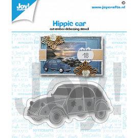 Joy! Stencil Hippie auto
