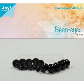 Joy! Crafts Dierenogen 10st Zwart 9mm