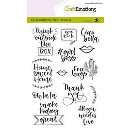 Clearstamps A6 - handletter - Quotes 2