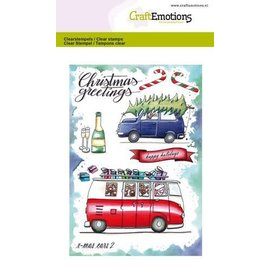 Clearstamps A6 - X-mass cars 2