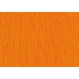 Crepepapier fel oranje 250x50cm