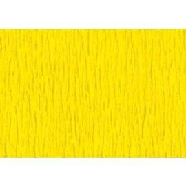 Crepepapier geel 250x50cm