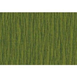 Crepepapier olijfgroen 250x50cm