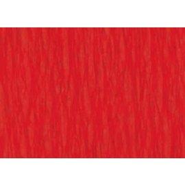 Crepepapier vuurrood 250x50cm