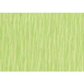 Crepepapier wit groen 250x50cm