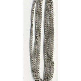 Ketting fijn zilverkleur 1,9 mm 1 MT