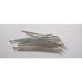 Nietstiften met kop zilverkleur 32 mm 100 ST