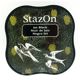 Stazon Stazon inktkussen Midi Jet Black