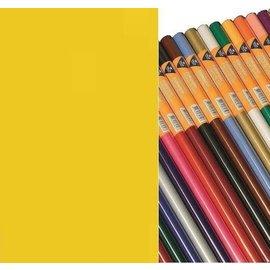 Zijdevloeipapier geel 18gr 5 vellen 50x70cm