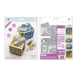 Tonic Studios Die Dimensions elements gift box die set