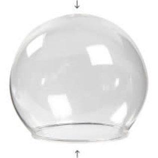 Belvormig glas zonder voet, D:8cm / Per bol
