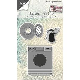 Snij-embos-debosstencil 3D, Washing machine