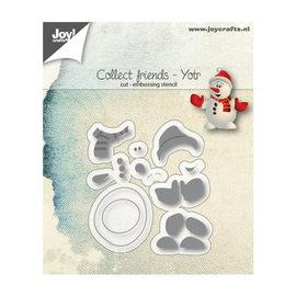Joy Craft snij-embosstencil friends yotr