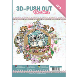 """3D Push out Out Book """"Occasions"""""""