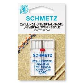 Schmetz Tweelingnaald universeel 2,5/80