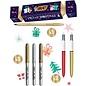 BIC, Xmas Cracker, 4 colours shine, 2 cristal shine, 3 marking metallic, 10 stickers
