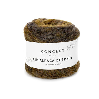 Air alpaca degrade 50g 63 kaki bad 21716