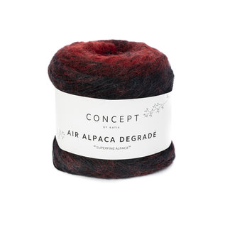 Air alpaca degrade 50g 69 rood bad 19044