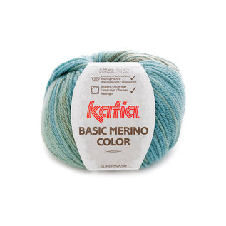 BASIC MERINO COLOR 200 groen-paars bad 21755