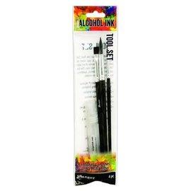 Ranger Jim Holz Alcohol Ink Tool Set - 3 Synth Bruches & Mini Mister