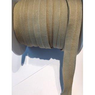 biais band FILLATRESSE 2cm breedte 60° wasbaar beige per meter