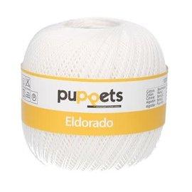 Puppets Eldorado dikte 10 50g 07001 wit bad 227273