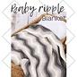 Baby Ripple Blanket grijs