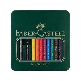 Faber-Castell Giftset Watercolour pencils & Pitt Artist Pen