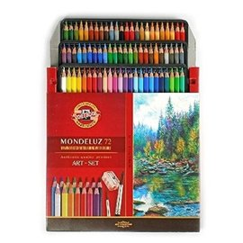 Drawing/Sketching/Colouring/Water-Soluble set, 72 delig