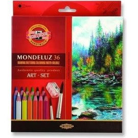 Drawing/Sketching/Colouring/Water-Soluble set, 36 delig