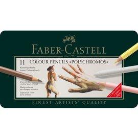 Faber-Castell 11 Colour Pencils Polychromos