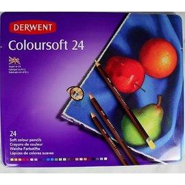 Serwent Coloursoft 24 soft colour pencils
