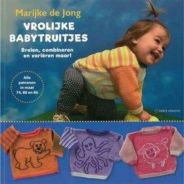 """Boek Vrolijke Babytruitjes """"Marijke de Jong"""""""