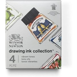 Winsor&Newton Darwing Inkt Collection 4 Vibrant tones