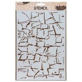 Design Sjabloon muur, DIN A4