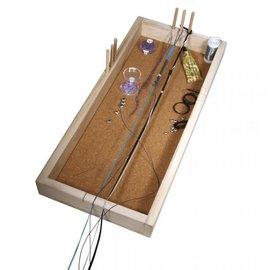 Apparaat om knopen te maken, 53x23cm