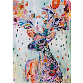 Borduren met parels Noble Deer 31x41cm