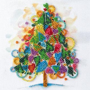 Borduren met parels The Heart of the Holiday