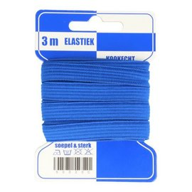 Copy of Elastiek kookecht 3m blauw