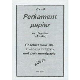 Perkametpapier 150g/m²  A4 25 vellen