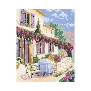 Bedrukt stramien 40x50cm Zuid Frankrijk