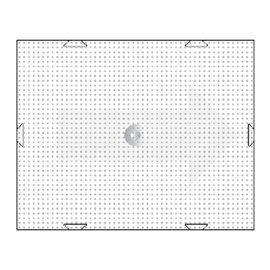 PixelHobby Pixels basisplaat groot 40x50 pixels