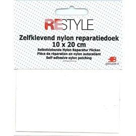 Restyle Reparatiedoek Nylon wit 009