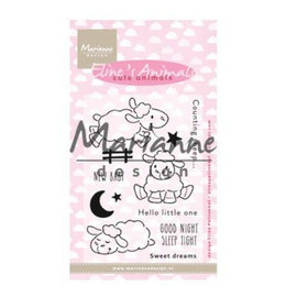 Clear Stamp Eline's Cute animals - schaap